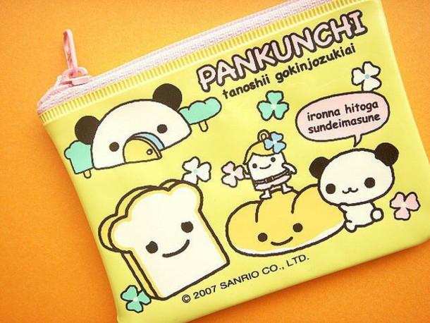 bag kawaii style pastel pencil case