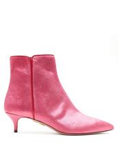velvet ankle boots,ankle boots,velvet,pink,shoes