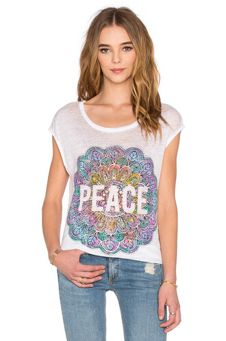 peace mandala white