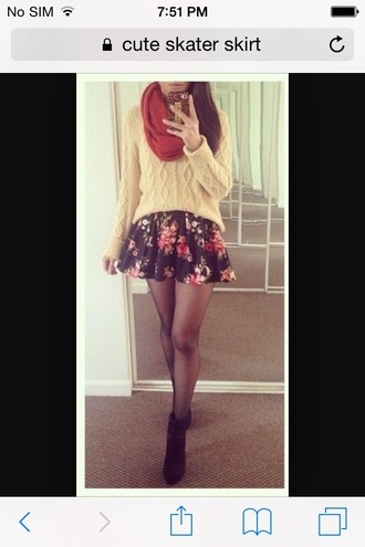 skirt floral