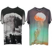digital print,christopher kane,t-shirt,photo print