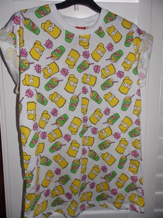 t-shirt bart simpson original