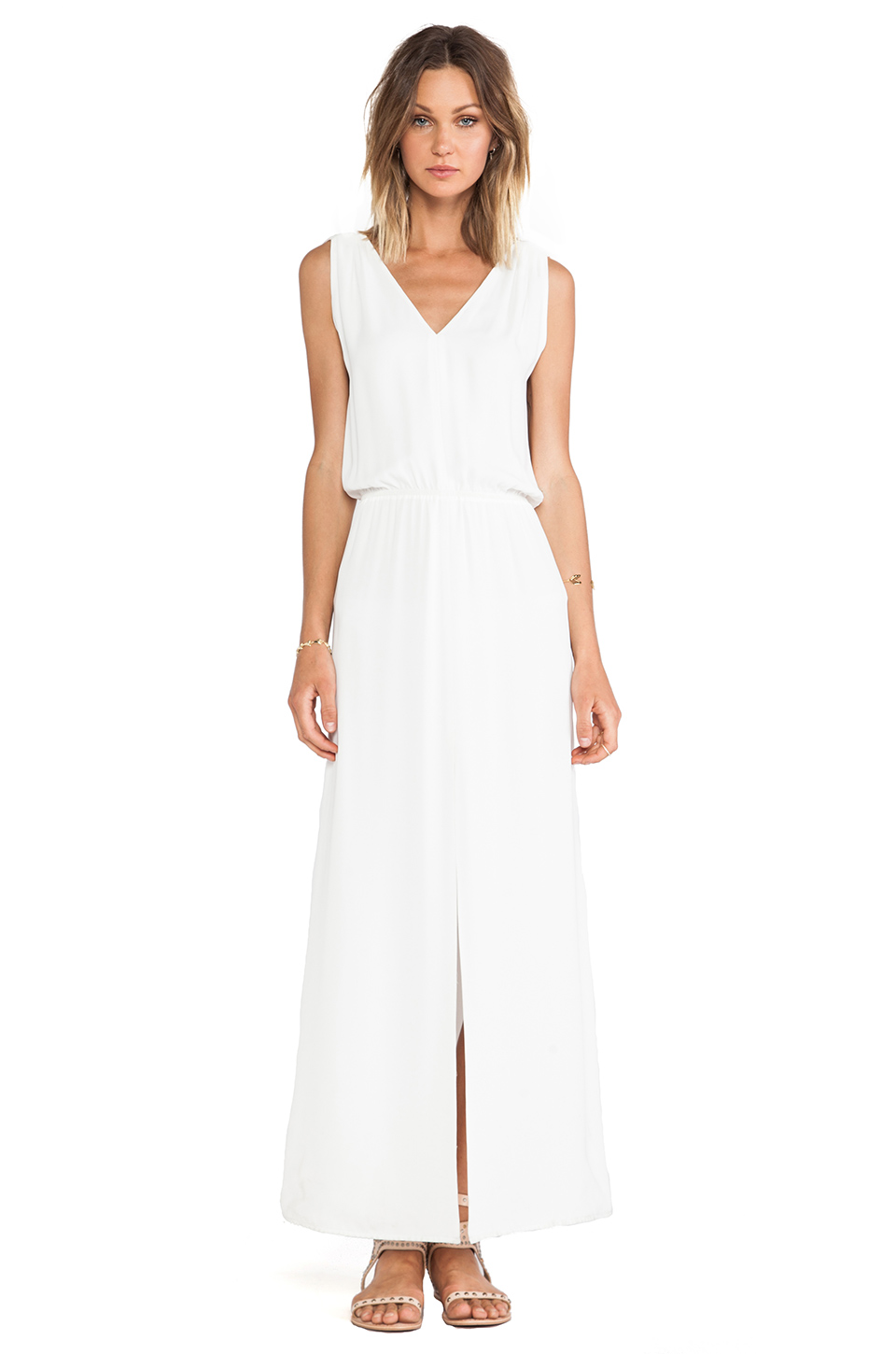 BLAQUE LABEL Maxi Dress in White from REVOLVEclothing.com