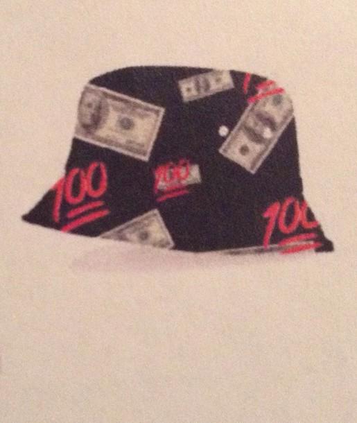 hat emoji money cute