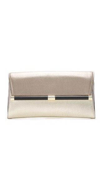envelope clutch metallic light clutch gold bag