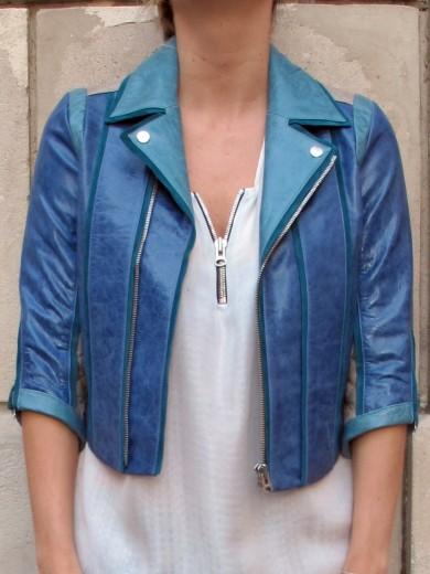 Modetrotter : heimstone, perfecto russel bleu heimstone, la mode à paris