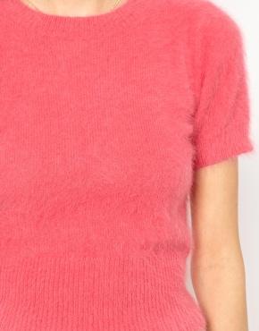 Orla kiely angora short sleeve knitted jumper at asos