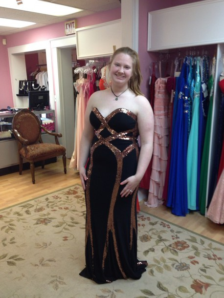 dress black gold prom sparkly dress sparkly dress sequin dress gorgeous dress