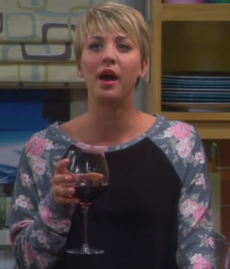 pullover kaley cuoco big bang theory roses