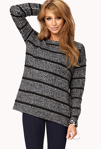 Marled Boyfriend Sweater | FOREVER21 - 2060810499