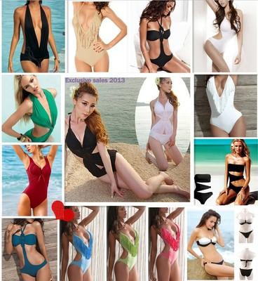 New Sexy Ladies Bikini Padded Fringes Swimsuit Swimwear Monokini Bikini s M L | eBay