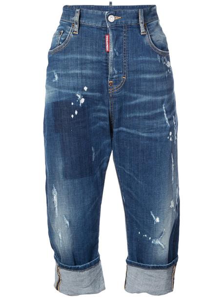 Dsquared2 jeans denim women spandex cotton blue
