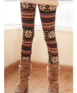 Red Lime Sunday leggings printed pants winter outfits