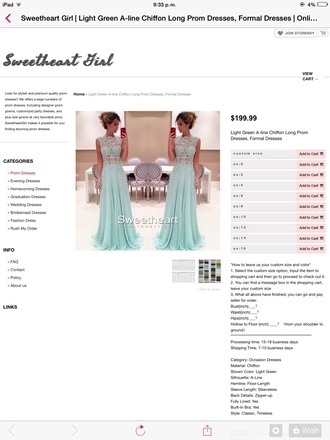 dress green dress blue dress lace dress floor length dress prom dress debs dress