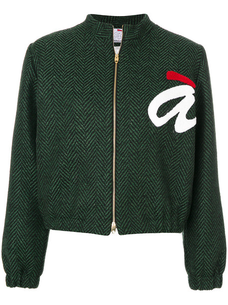 Ultràchic jacket women wool green