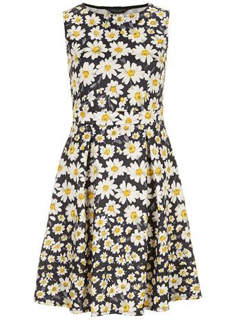 Daisy scuba skater dress - View All Dresses  - Dresses  - Dorothy Perkins