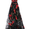 High low floral embroidered gown | moda operandi