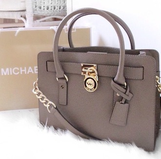 bag grey micheal kors bag handbag michael kors