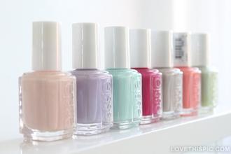 nail polish essie pastel