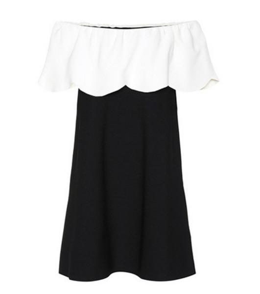 Valentino Crêpe minidress in black
