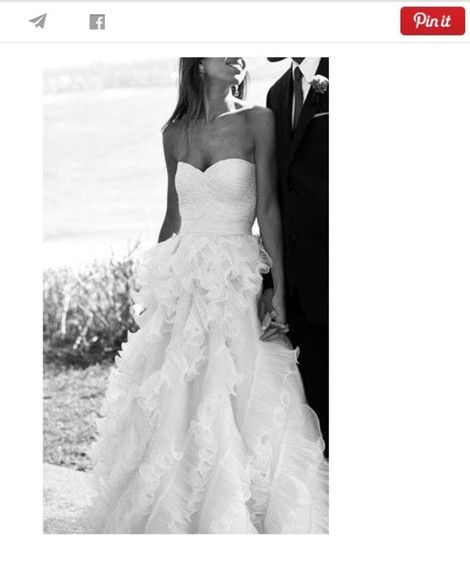 ruffles wedding dress simple wedding dresses elegant