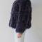 Fluffy fur fever jacket graphite grey - pellobello
