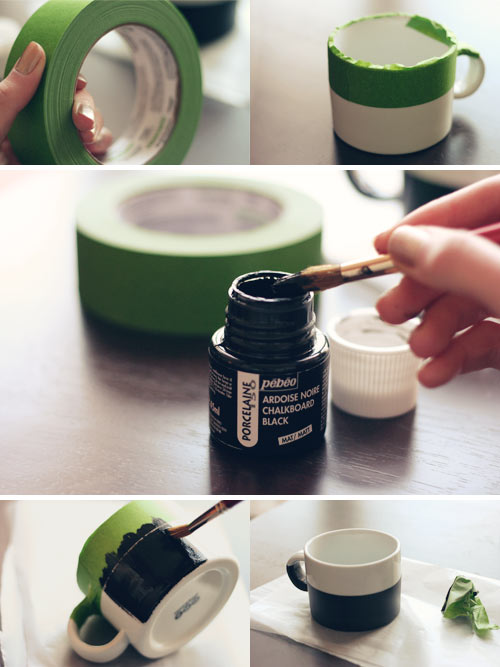 DIY: Chalkboard Mug | Wit & Whistle