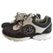 Leather trainers chanel anthracite