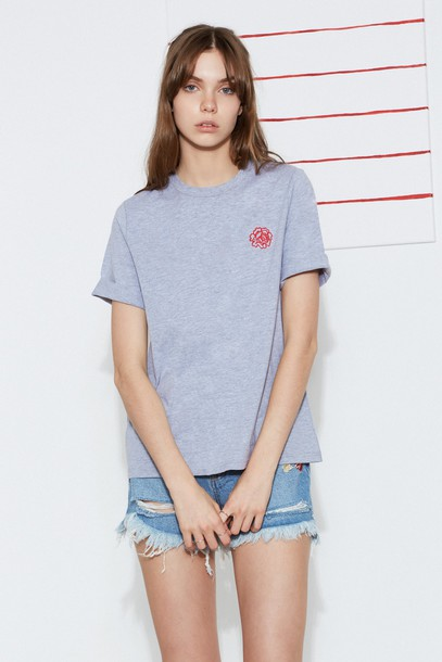 The fifth t-shirt shirt t-shirt grey top