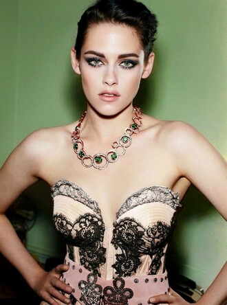 jewels top strapless kristen stewart