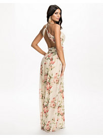 Floral Empire Maxi Dress, NLY Eve