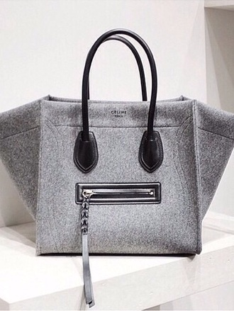 bag grey celine celine bag