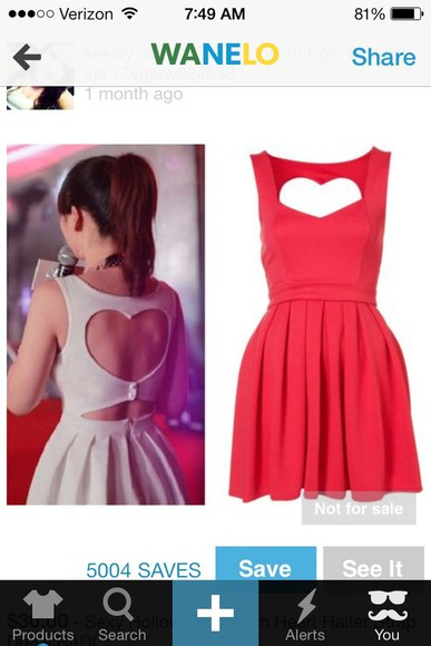 dress white dress red dress a beautiful heart black
