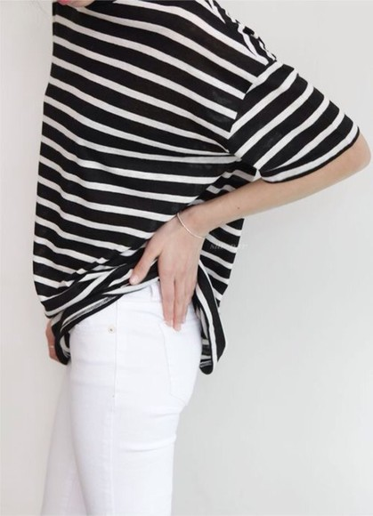 stripes t-shirt blackandwhite stripes blackwhite
