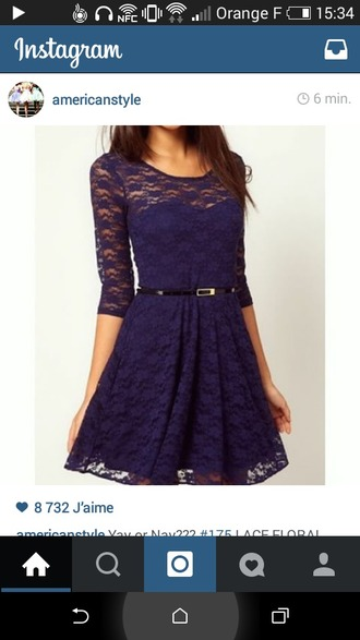 dress blue dress dentelle dentelle dress cute dress bustier dress