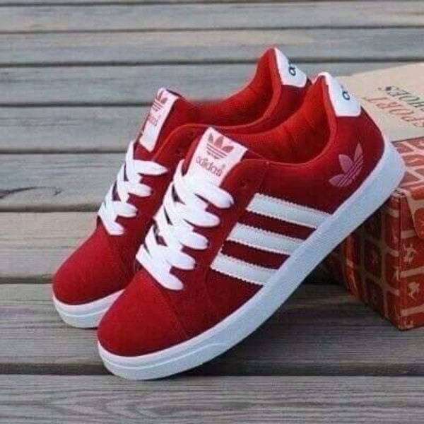 shoes red adidas runners adidas shoes low top sneakers red sneakers red white adidas red shoes red adidas shoes suede brand pinterest