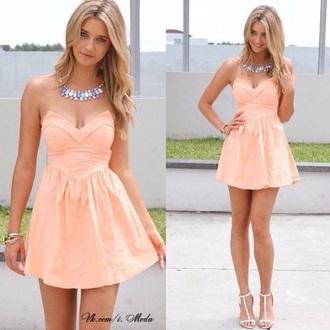 dress beige dress crop dress