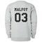 Malfoy 03 sweatshirt back
