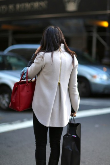 new york city style fashion fall outfits coat winter/autumn