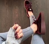 shoes,red,velvet,velvet shoes,red shoes,platform shoes,velvet platform shoes,red platform shoes,red velvet platform shoes,burgundy shoes,burgundy velvet shoes,burgundy platform shoes,red velvet