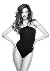 swimwear,black,one piece swimsuit,alessandra ambrosio,model