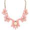 Womens crystal bib statement choker collar chain necklace pendant halsketten