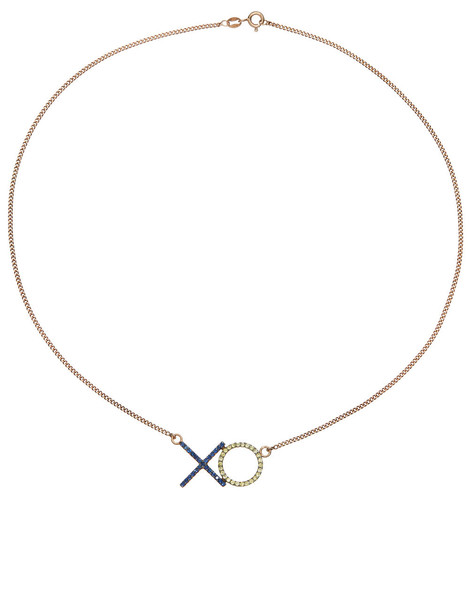 Aamaya By Priyanka rose gold rose necklace gold