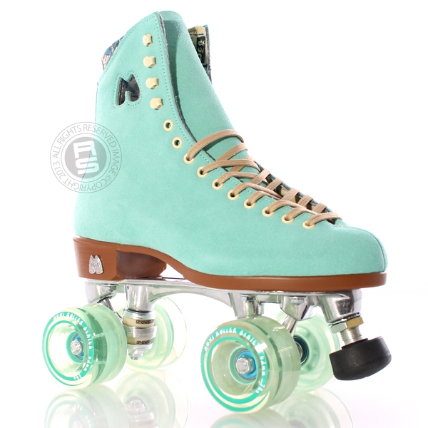 Moxi Roller Skates | Moxi Lolly Roller Skates in Floss Teal at Skate Sale