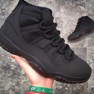 jordan shoes jordan's sneakers swag dope sneakers all black mens shoes