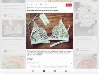 underwear lace lingerie lace bra white lace top