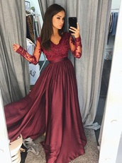 dress,red,lace,details,prom dress,red dress