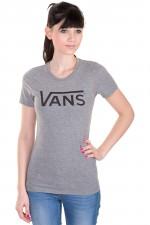 Vans Allegiance T-Shirt girls (grey heather black) buy at skatedeluxe