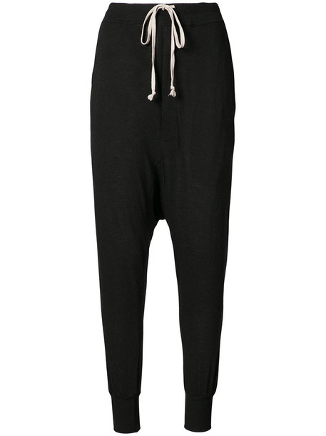 Rick Owens Lilies pants loose women fit black wool