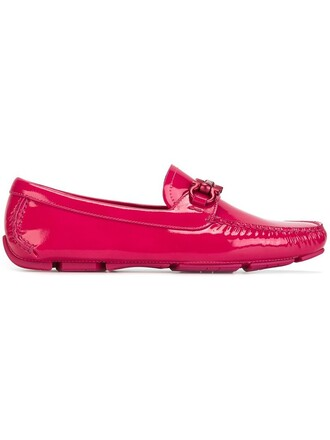 loafers purple pink shoes